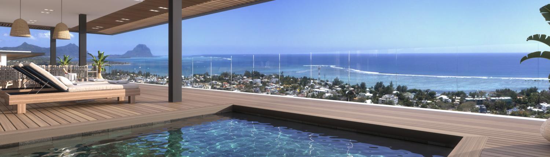 Luxe nieuwbouw penthouse kopen Mauritius