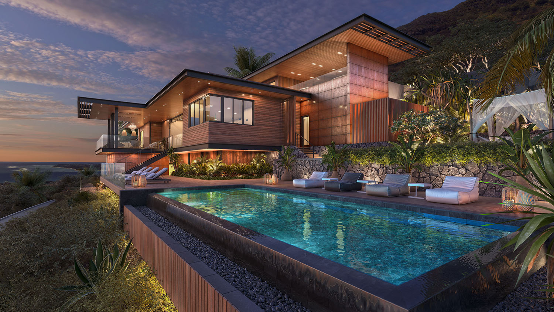 Luxe nieuwbouw villa kopen Mauritius