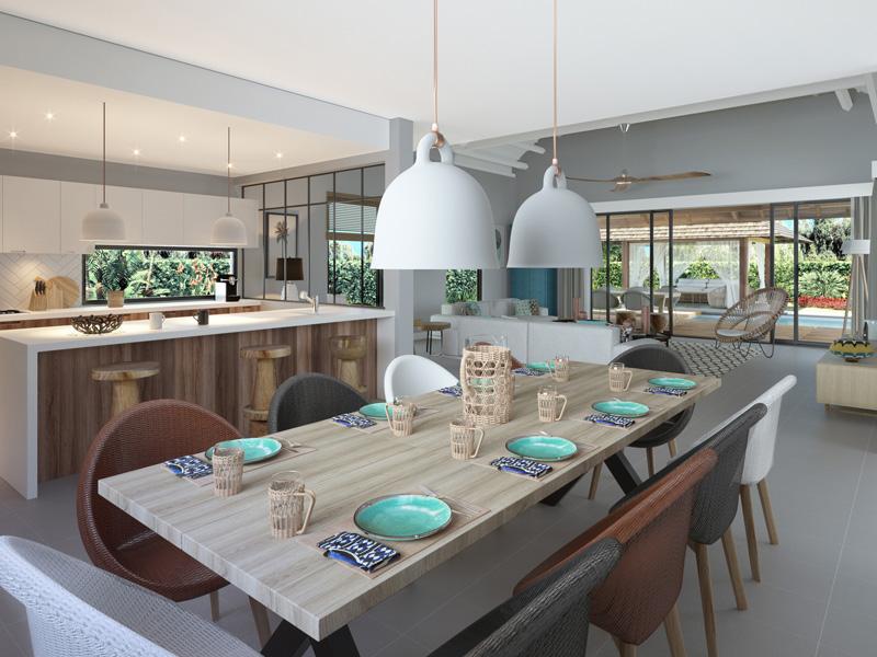 Grand Bay villa in luxe resort met gegarandeerde verhuur opbrengst