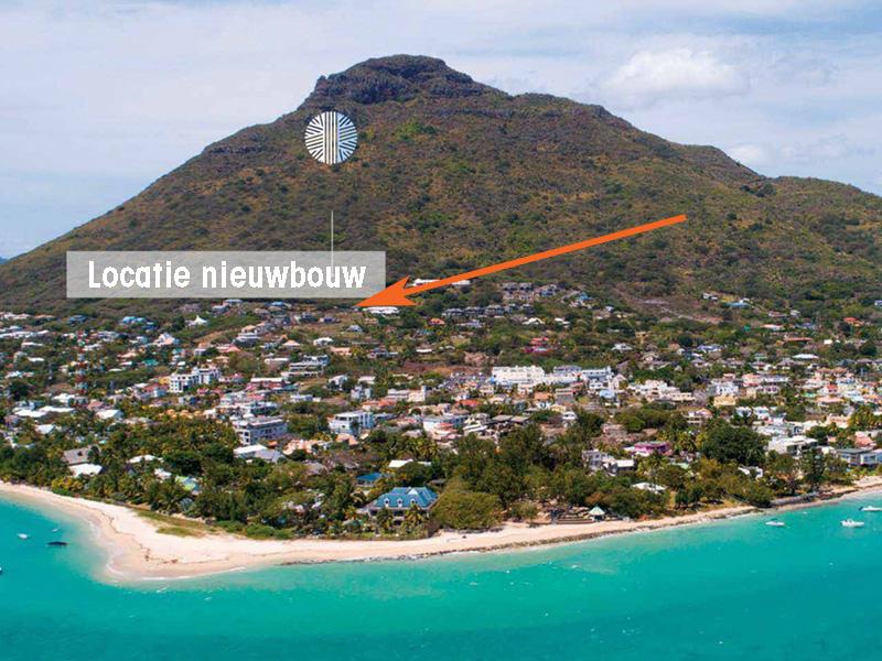 Nieuwbouw project op Mauritius Zuid